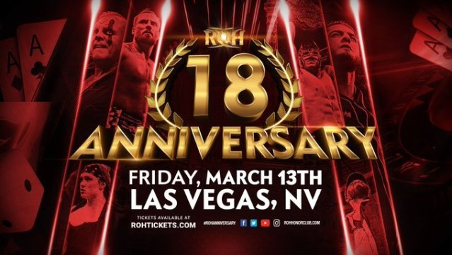 ROH 18th Anniversary   Ring Of Honor