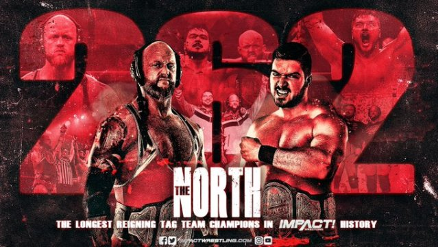 The North Become Longest Reigning Tag Champions In IMPACT History