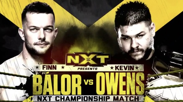 Kevin Owens Finn Balor TakeOver Ladder Match Posted