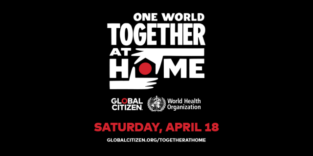 """AXS TV To Broadcast """"One World: Together At Home"""""""
