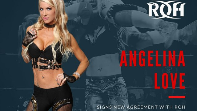 Ring Of Honor Re-Signs Angelina Love