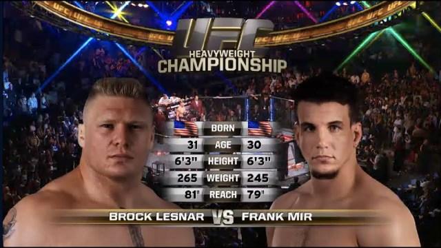 Brock Lesnar vs Frank Mir 2 | UFC Free Fight Posted