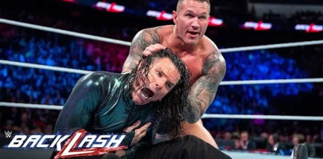 Jeff Hardy vs Randy Orton WWE Backlash 2018   Free Match