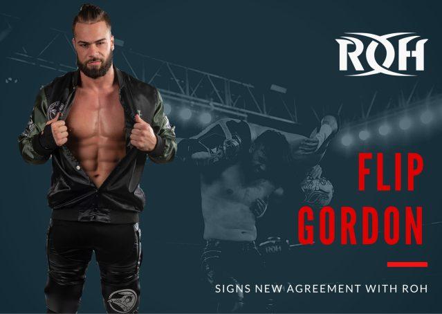 Flip Gordon Signs New ROH Contract