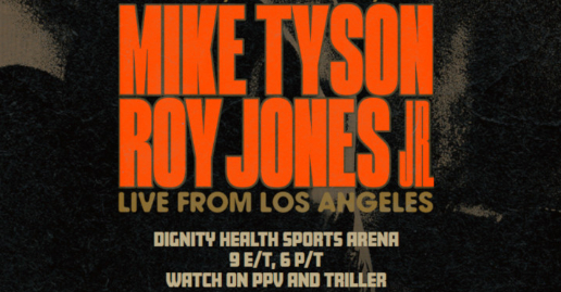 Mike Tyson vs Roy Jones Jr | November 28