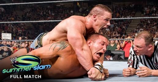 John Cena vs Randy Orton SummerSlam 2007 Full Match