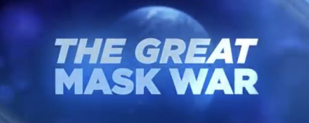 """Trevor Noah on """"The Great Mask War"""" 