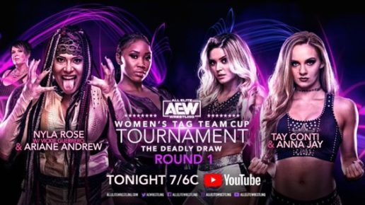 AEW Women's Tag Team Cup Tournament Night One | August 3