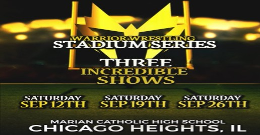 Warrior Wrestling Stadium Series Announced | Tickets Now Available