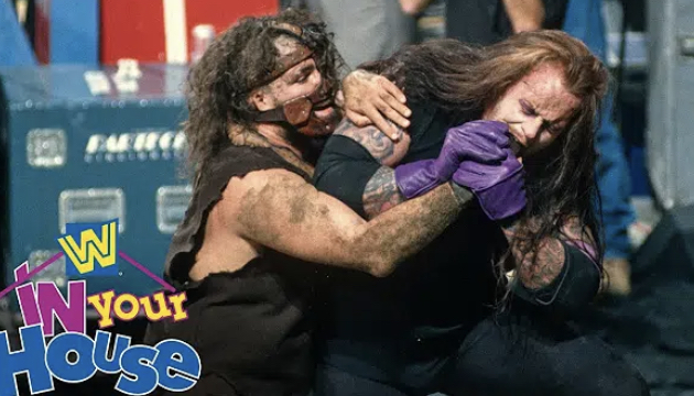 "Undertaker vs Mankind ""Buried Alive"" 1996 | WWE Free Match"