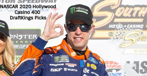 NASCAR Hollywood Casino 400 at Kansas DFS DraftKings Picks