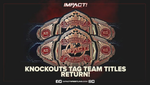 IMPACT Wrestling Knockouts Tag Team Titles Returning
