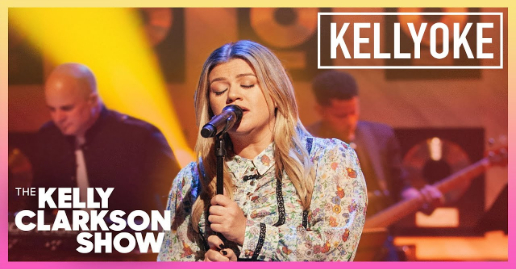 "Kelly Clarkson covers Aerosmith's ""Cryin"" on the latest Kellyoke"