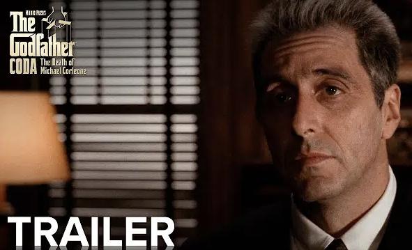 """""""The Godfather Coda: The Death of Michael Corleone"""" Trailer & Featurette"""