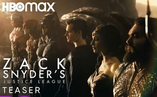 """New Trailer for """"Zack Snyder's Justice League"""" Posted"""