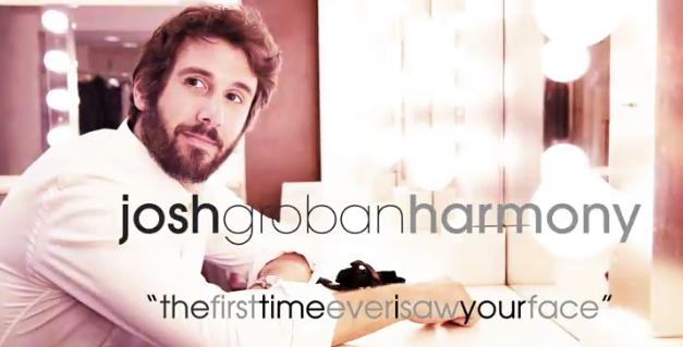"""Josh Groban Releases New Single """"The First Time Ever I Saw Your Face"""""""