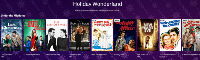"""HBO Max to Launch """"Holiday Wonderland"""" featuring Holiday Favorites"""