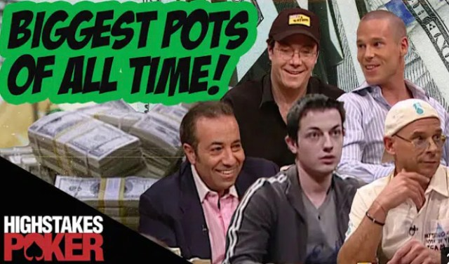 """""""High Stakes Poker Biggest Pots of All Time"""" Posted"""