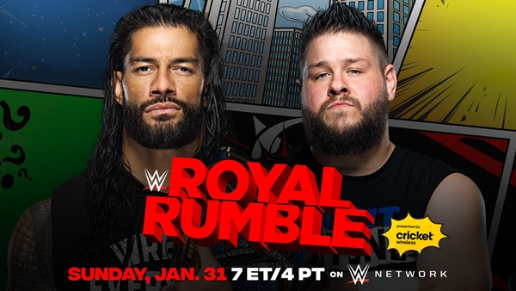 WWE 2021 Royal Rumble Updated Card