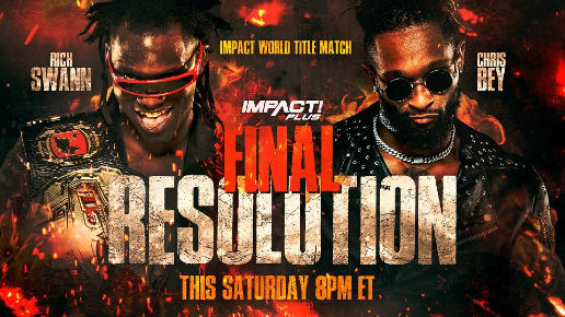IMPACT Wrestling Final Resolution 2020 Updated Card