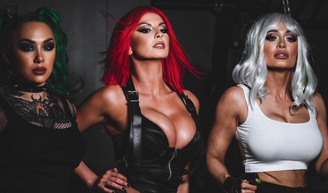 """Indestructible"" Video w/ Scarlett Bordeaux, Harley Cameron & Shotzi"