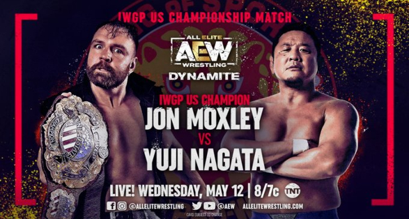 Moxley to defend New Japan's IWGP U.S Championship on Dynamite