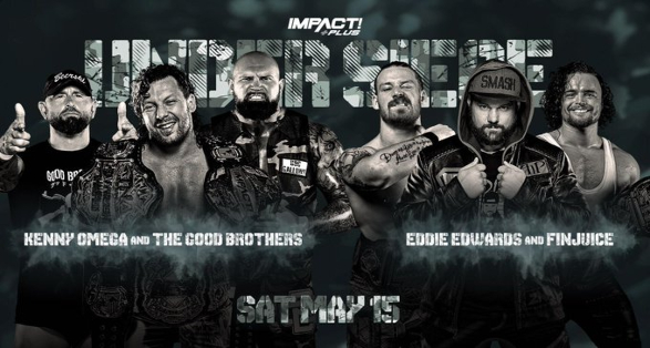 "Matches Announced for IMPACT Plus Special ""Under Siege"""