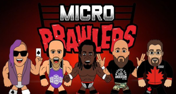 """Series Two of IMPACT Wrestling """"Micro Brawlers"""" Now Available!"""