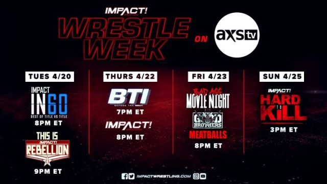 wrestle week impact