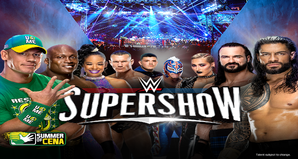WWE Columbia South Carolina Supershow Results from August 15 2021
