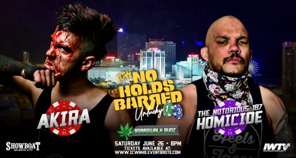 Matches, Ticket Info & More for ICW: No Holds Barred Unlucky 13