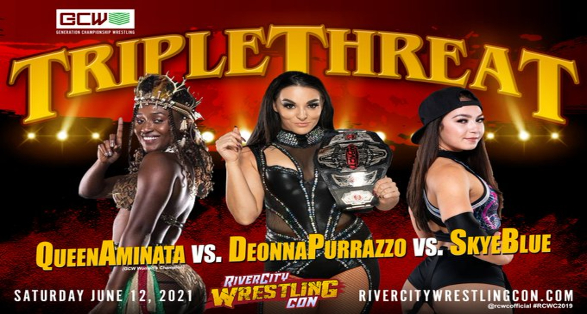 RCW Announces Triple Threat Match with KO Champ Deonna Purrazzo