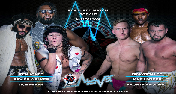 Six Man Tag & More set for this Saturday's AAW Pro Alive