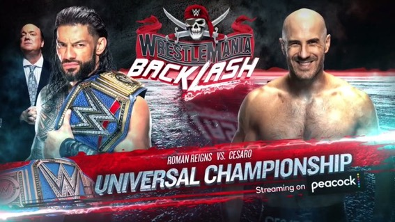 New Championship Matches set for WWE Backlash   Updated Card