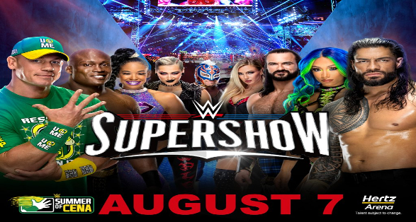 WWE Fort Myers Florida Supershow Results from August 7 2021