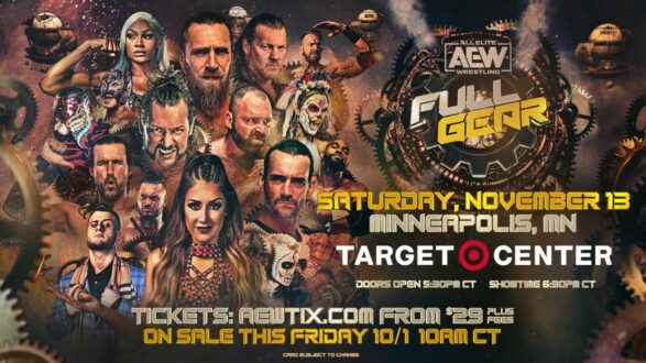 Lucha Bros vs FTR Title Match set for AEW Full Gear | Updated Card