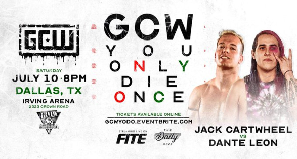 Cartwheel vs Leon added to GCW Dallas Event | Updated Card