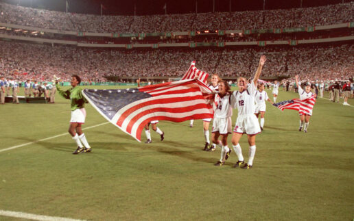 Peacock to Air '96 Women's Soccer Gold Medal Game for First Time in U.S