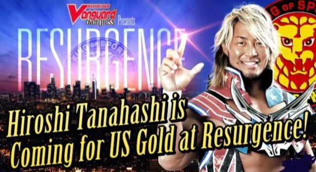 Archer to Defend Against Tanahashi at NJPW Resurgence?