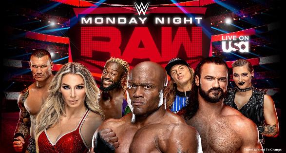 WWE Monday Night Raw in Raleigh North Carolina on September 20 2021