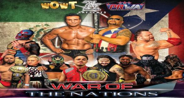 """WOWT """"War of the Nations"""" featuring Alberto Del Rio vs Savio Vega"""