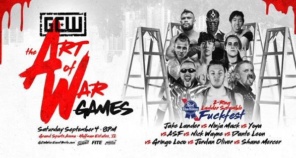 """GCW """"The Art of War"""" in Chicago on September 4 2021"""