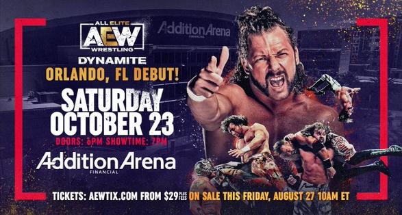 AEW Dynamite October 23 2021 in Orlando Florida Preview & Ticket Info