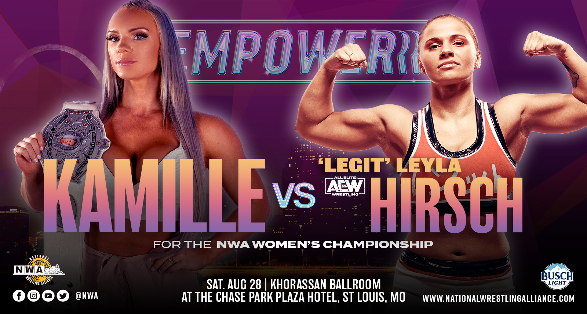 """NWA """"EmPowerrr"""" Results & Preshow 