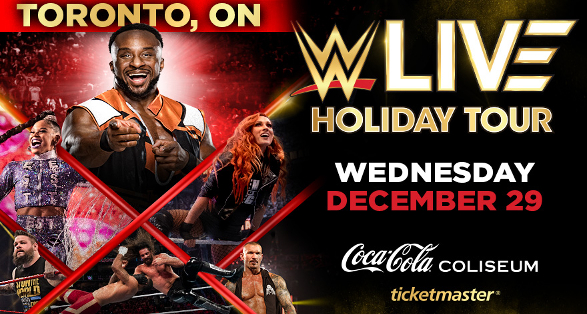 Tickets Available for WWE Holiday Tour Event in Toronto