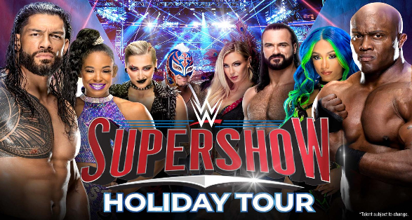 WWE Supershow Holiday Tour in Grand Rapids Michigan on December 12