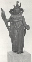 Abundantia africana. Bronzetto della collezione Verità.