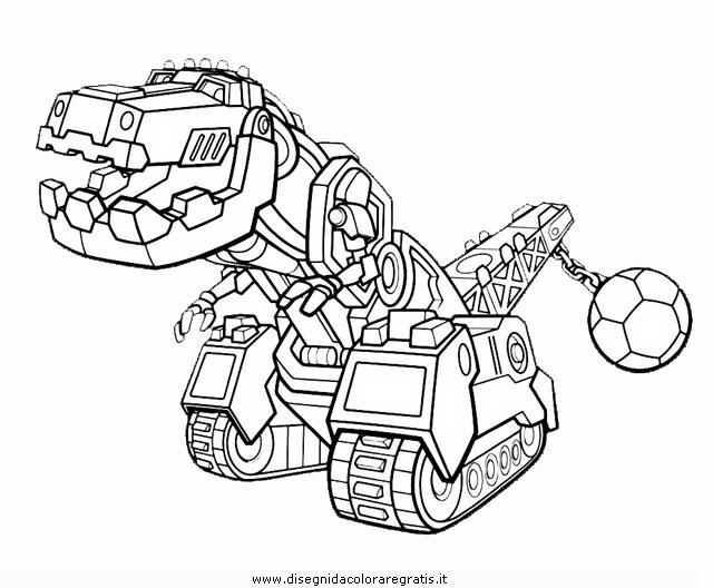 Disegno Dinotrux 2 Personaggio Cartone Animato Da Colorare