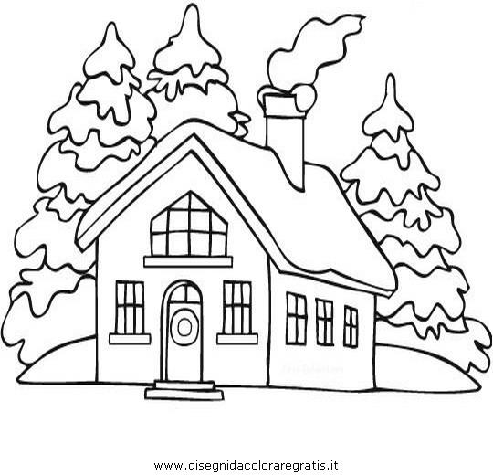Visualizza altre idee su casette, ricamo, pagine da colorare di natale. Disegno Natale Paesaggi 23 Categoria Natale Da Colorare