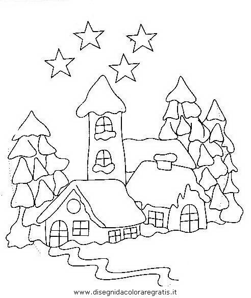 Visualizza altre idee su natale, disegni applique, decorazioni natalizie. Disegno Natale Paesaggi 33 Categoria Natale Da Colorare